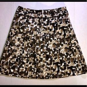 Ann Taylor Spekled Multicolor Skirt Size 6
